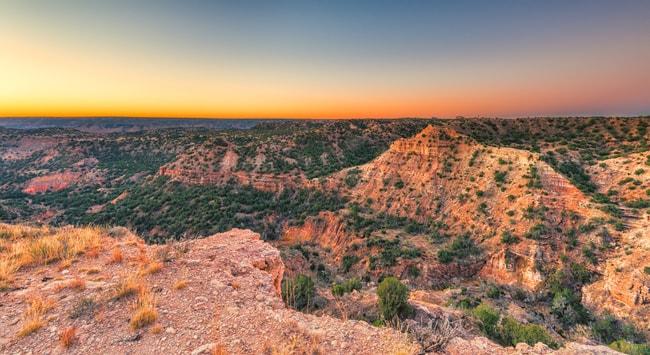 Sunrise at Palo Duro Canyon, Texas | © Patrick Jennings/Shutterstock