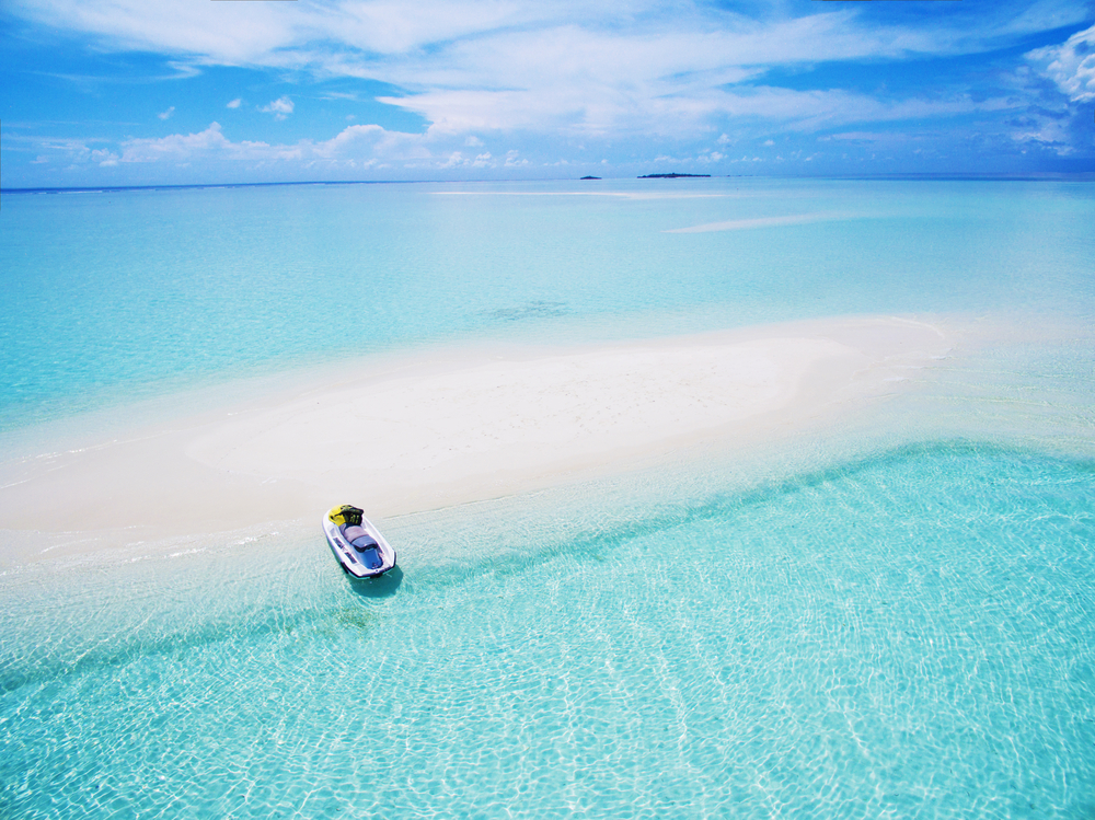 A sandbank in the Male Atoll | © NinaMalyna/Shutterstock