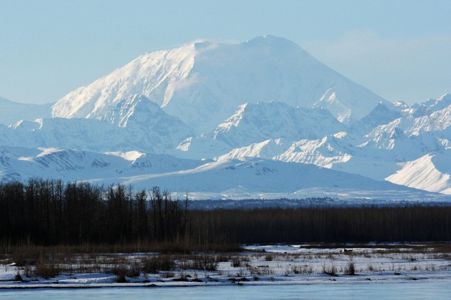 Mt. Foraker Shot from Talkeetna | ©Paxson Woelber/Flickr