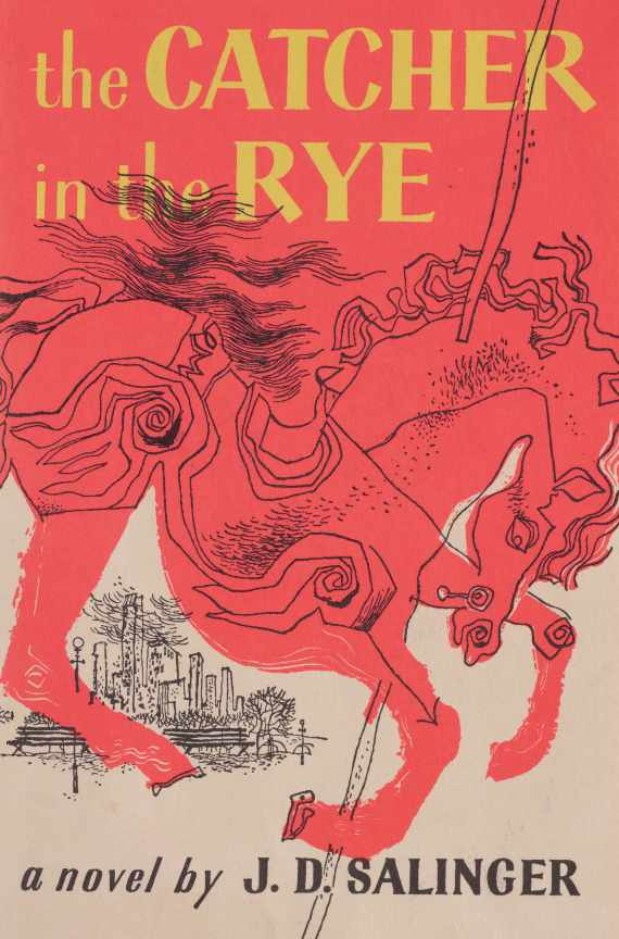 J.D. Salinger: 'The Catcher in the Rye' | Image Courtesy of Little, Brown and Company