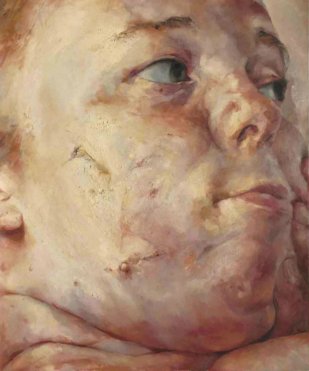 [ S ] Jenny Saville - Interfacing (1992) | © cea +/Flickr