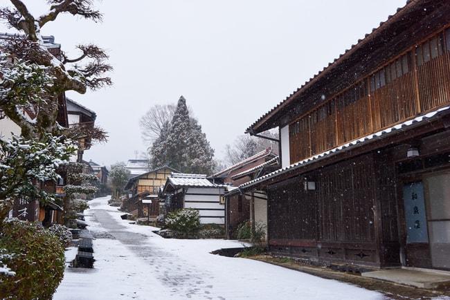 Путь через деревню Магоме зимой |  © Tanwa Kankang / Shutterstock