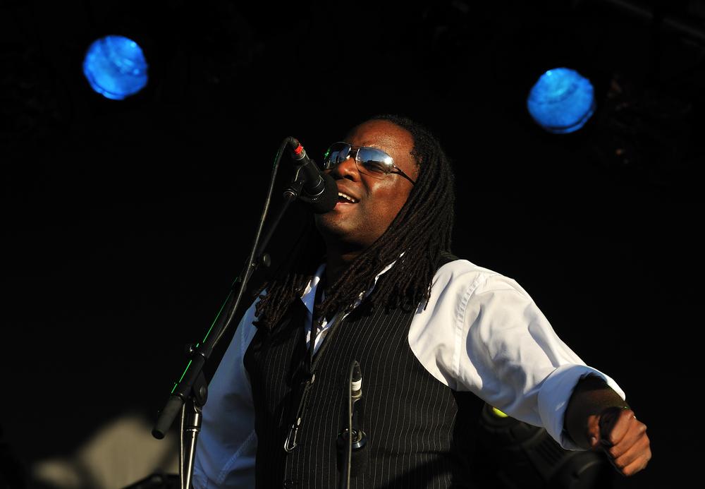 Lester McLean from Rhythm & Truth Brass Band at Toronto Jazz Festival in Toronto, Canada ©Zoran Karapancev / Shutterstock