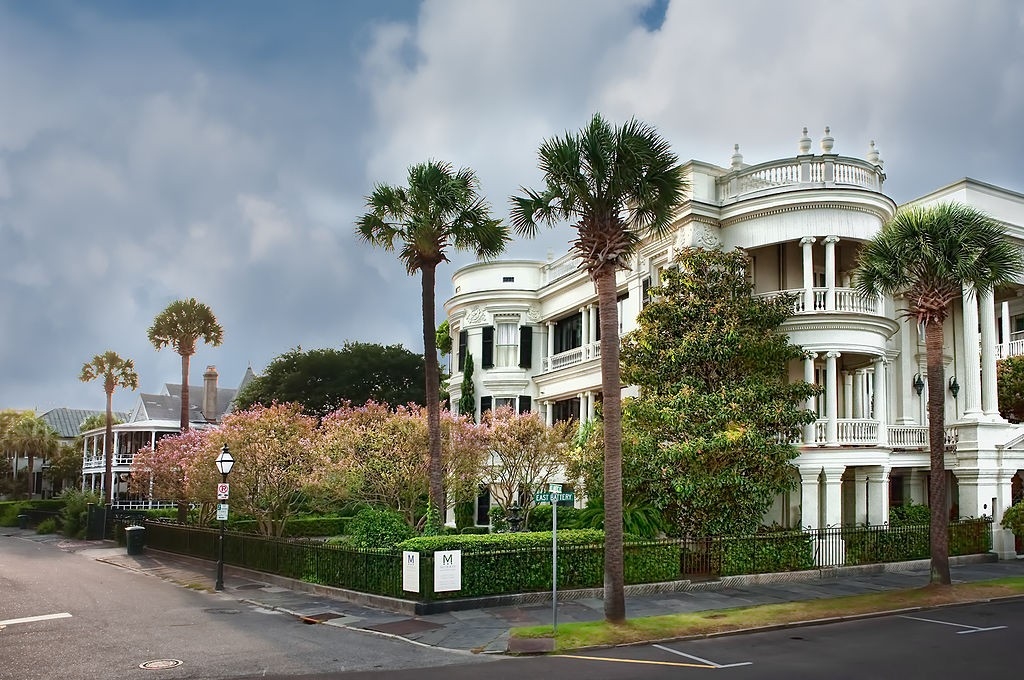 East Battery, Charleston | © Photoartel/WikimediaCommons