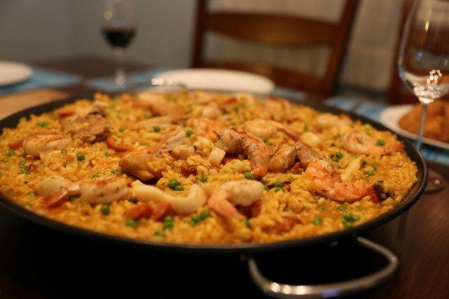 Seafood Paella © Mack Male