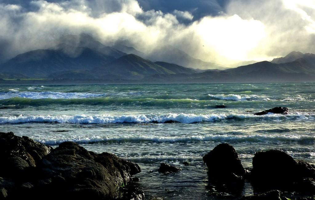 Kaikoura, New Zealand © Bernard Spragg. NZ/Flickr
