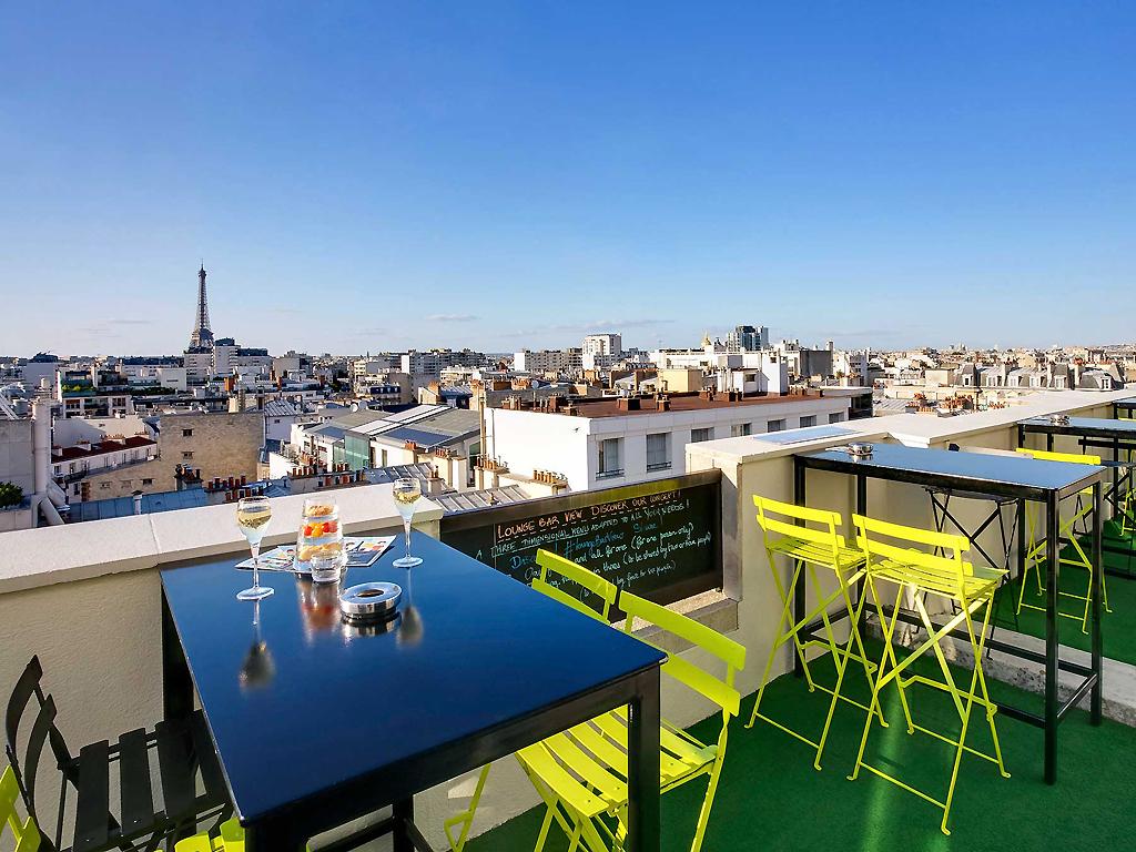 The 10 best rooftop bars in paris for Piscine montparnasse