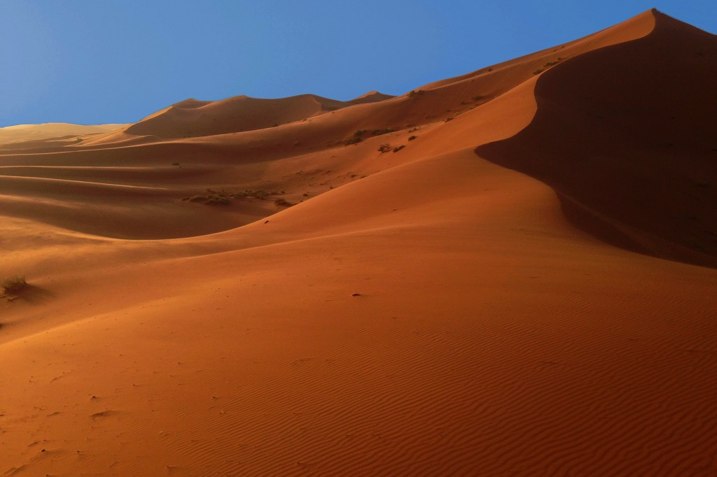 Sand Dunes Near Merzouga | ©Pedro Carvalho/Flickr
