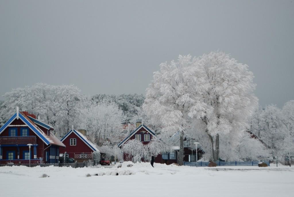 Nida in the winter|©Juozas Šalna/Flickr