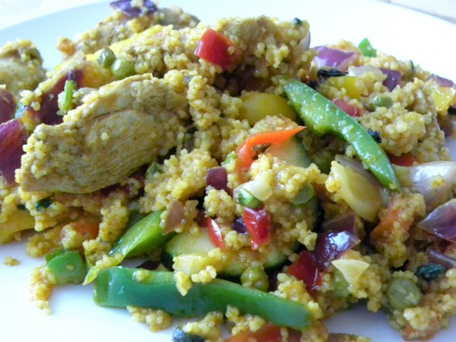 Cous-Cous Salad © Rool Paap