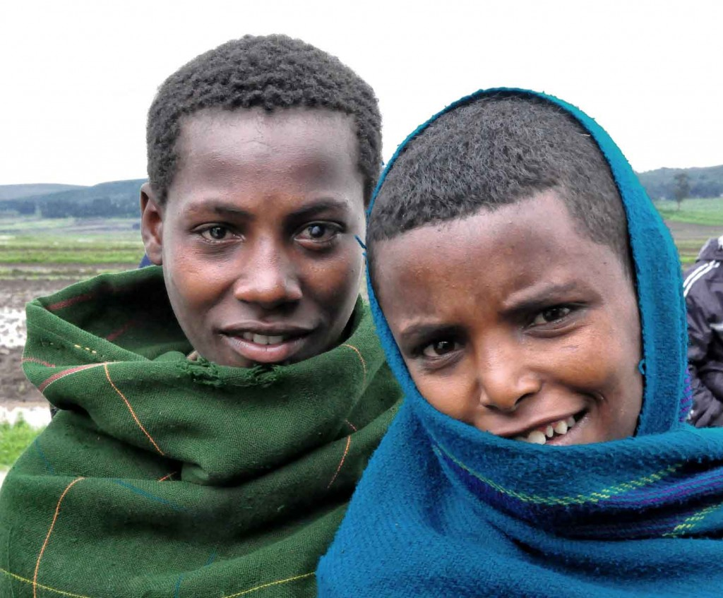 Children in Bahir Dar | Ethiopia © Rod Waddington