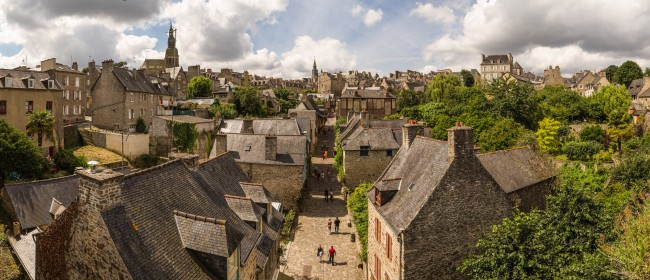 Dinan Panorama |© Benh LIEU SONG/Flickr