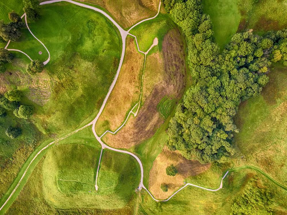 Kernave from above | ©krivinis/Shutterstock