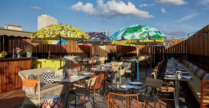 the 10 best rooftop bars in paris. Black Bedroom Furniture Sets. Home Design Ideas