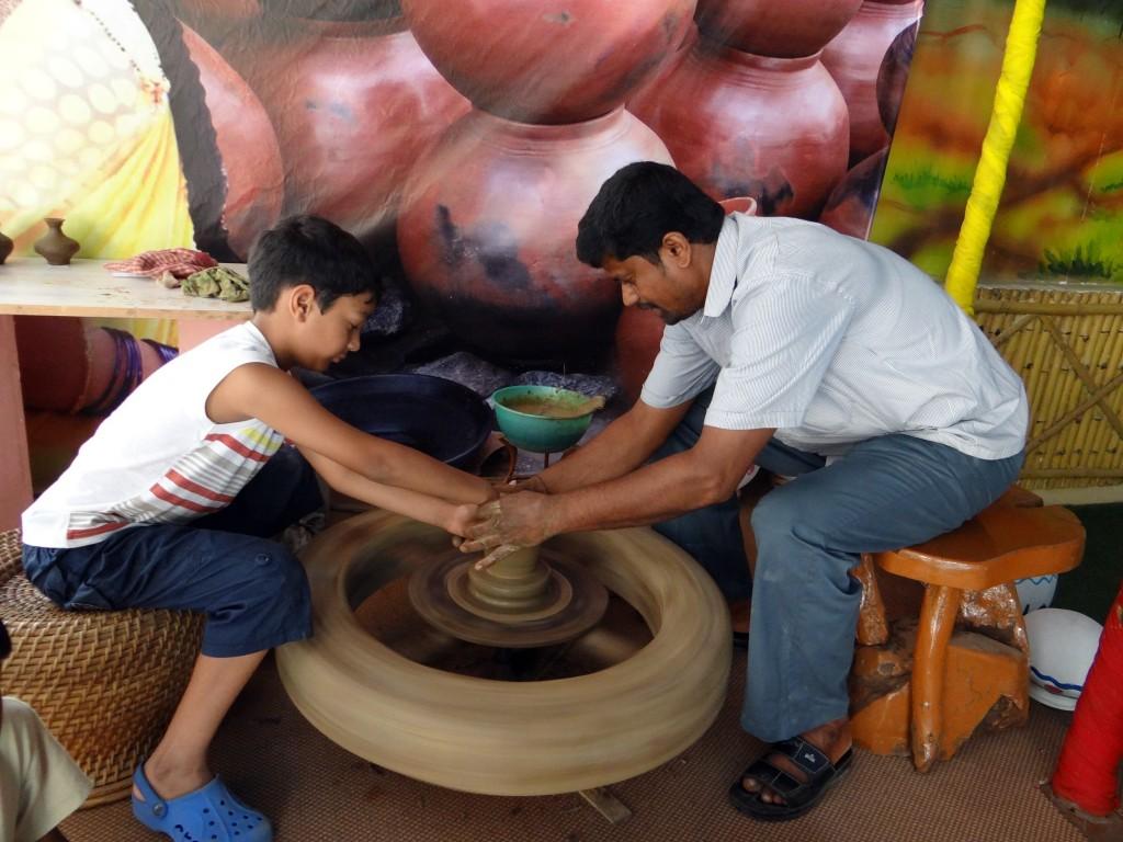 Potmaking Bangalore India