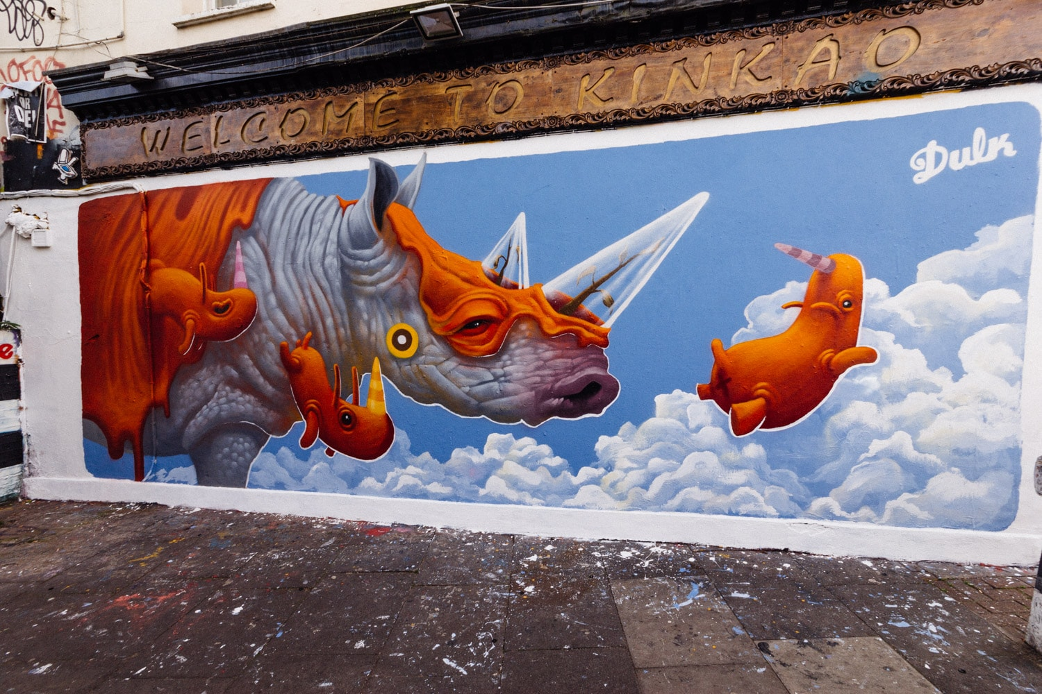 Shoreditch s 10 best streets to see graffiti for Cafe le jardin bell lane london