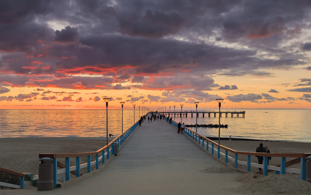 Palanga at dusk | © Sergei25/Shutterstock