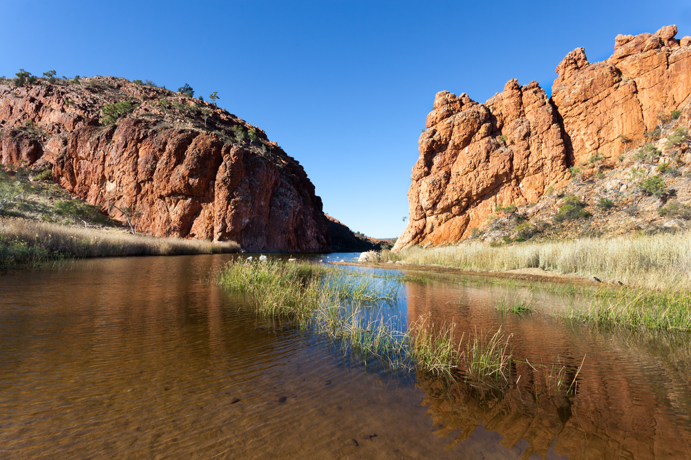 Glen Helen Waterhole Central Australia near Alice Springs | © mark higgins/Shutterstock