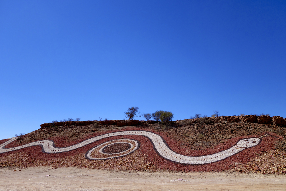 Dreamtime Serpent near Birdsville | © Michael Leslie/Shutterstock