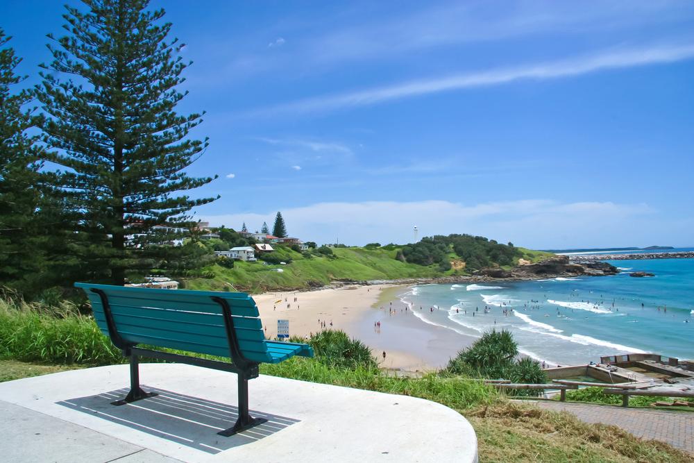 Yamba surf beach in Northern New South Wales Australia | © VEK Australia/Shutterstock