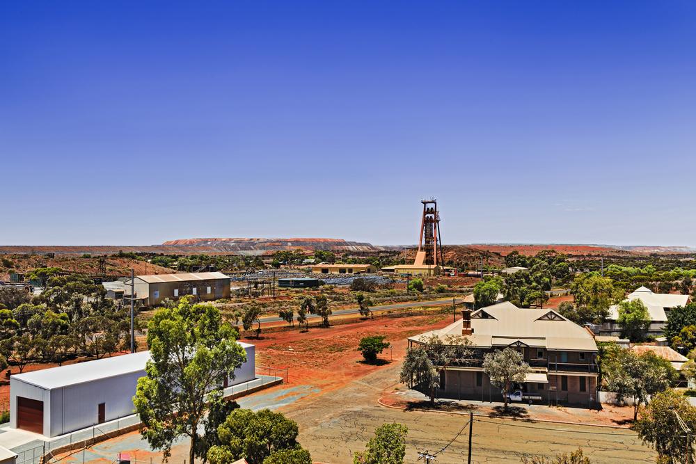 Aerial view of Kalgoorlie Boulders town in Western Australia | © Taras Vyshnya/Shutterstock