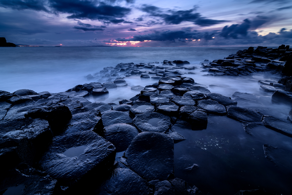 Giant's Causeway, Co. Antrim, Northern Ireland. Sunset ©  slawomir.gawryluk / Shutterstock