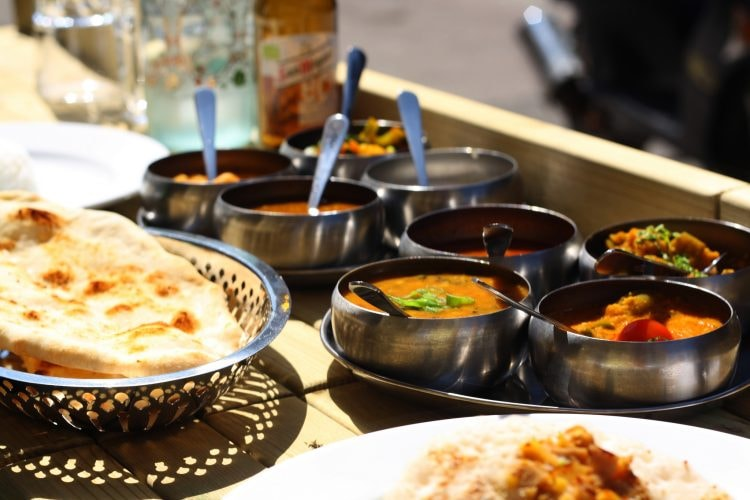Have an Indian feast at Indus