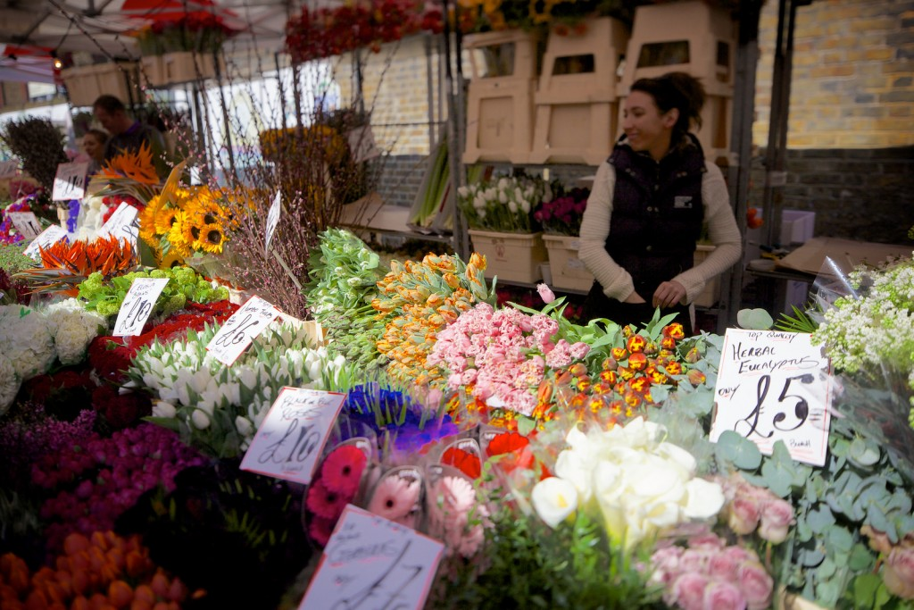 Colombia Road Flower Market | ©Aurelien Guichard/Flickr