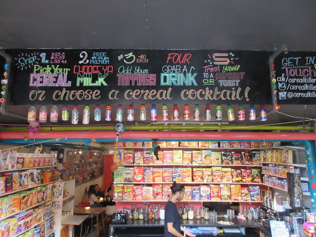 Cereal Killer Cafe | ©Londo Mollari/Flickr