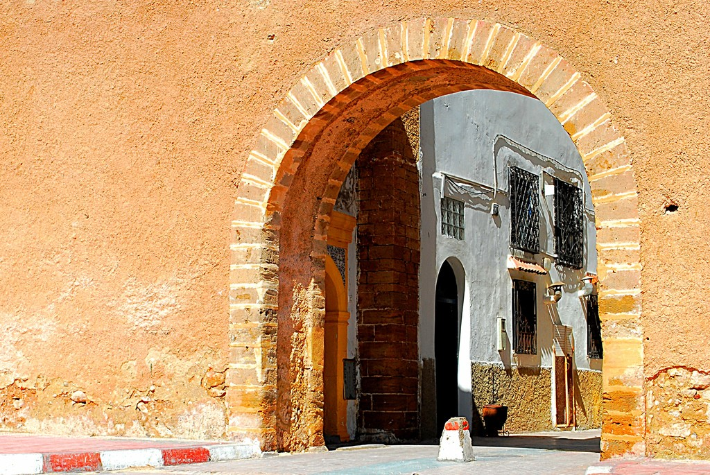 One entrance to the Medina of Essaouira | ©Davidlohr Bueso/Flickr