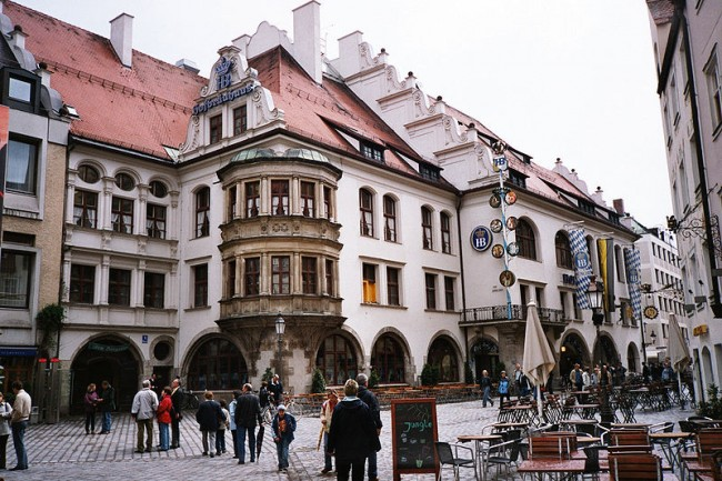 Hofbrauhaus Munchen |© Wikimedia Commons/Flickr