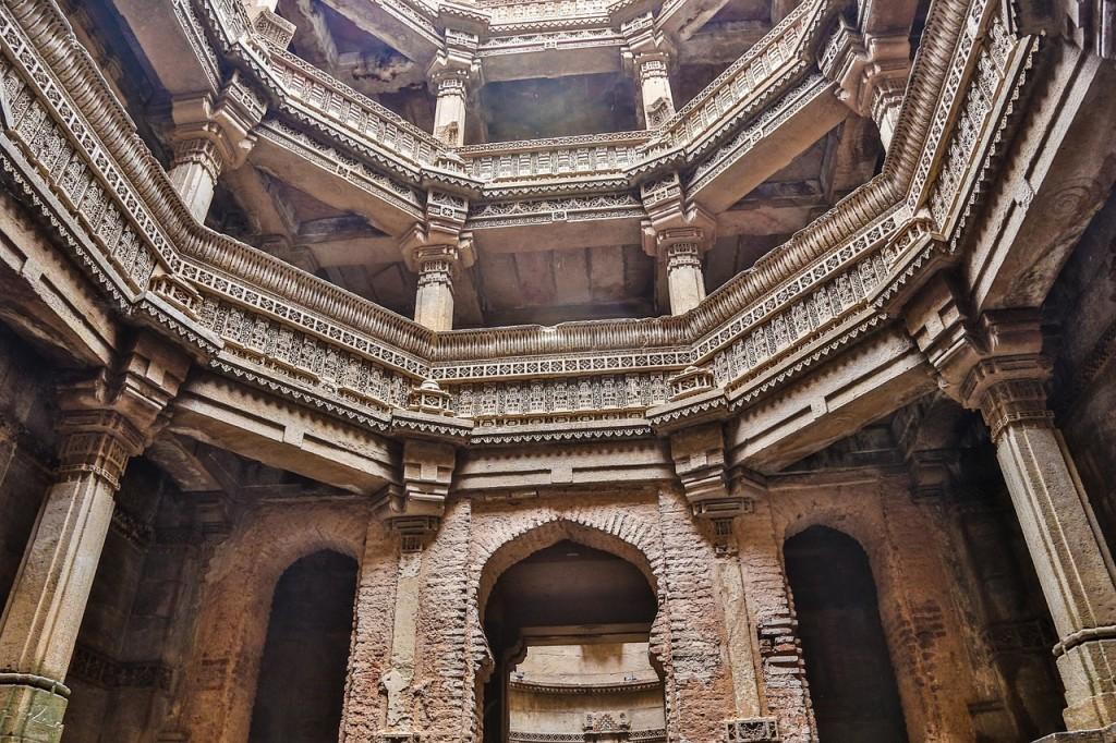 Adalaj Stepwell, Gujarat © Pixabay