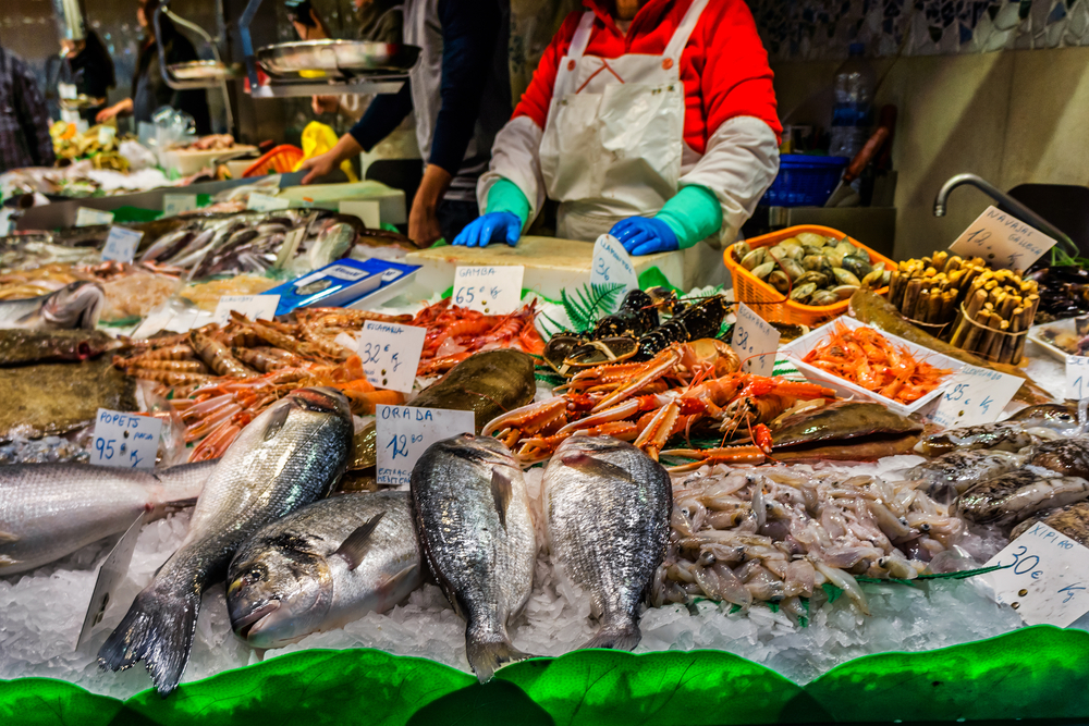 The 10 best restaurants in la barceloneta barcelona for The fish market del mar