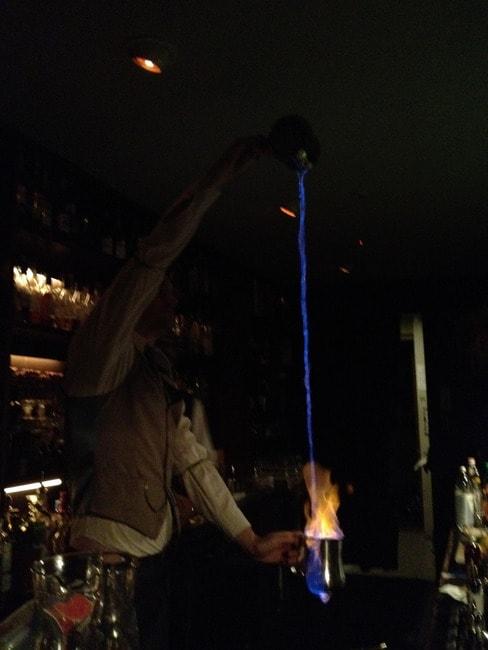 Flamin' Cocktails