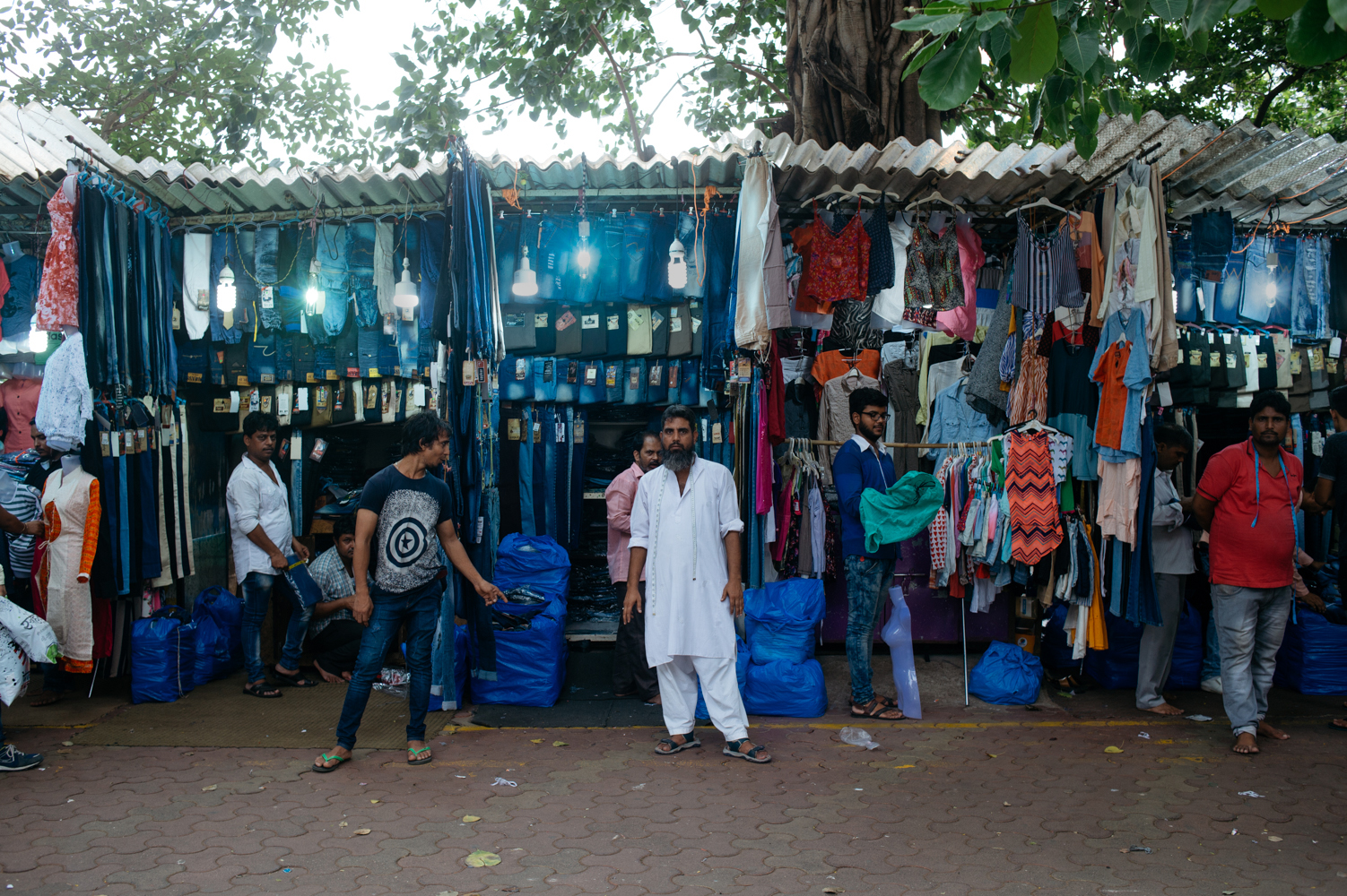 Linking Road Market for Men to find branded clothes at cheaper rate