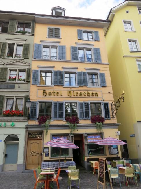 Hotel Hirschen | © Paebi/WikiCommons