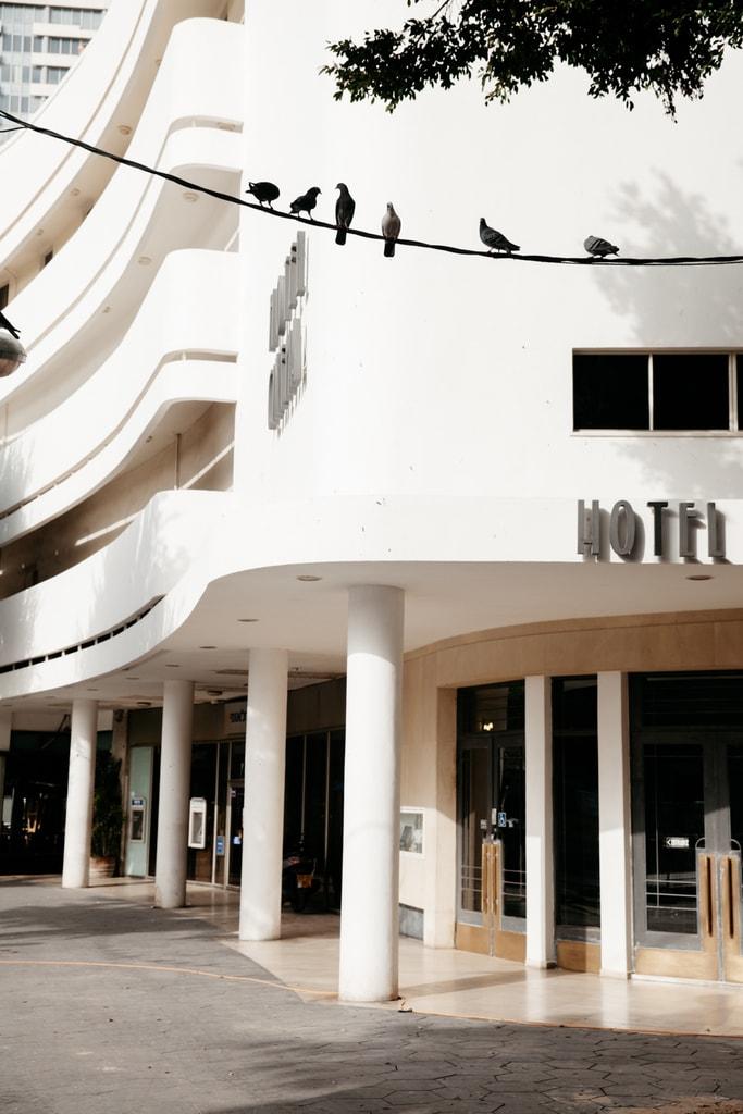 KCTP00019-HOTEL CINEMA-BAUHAUS ARCHITECTURE-WHITE CITY-TEL AVIV-