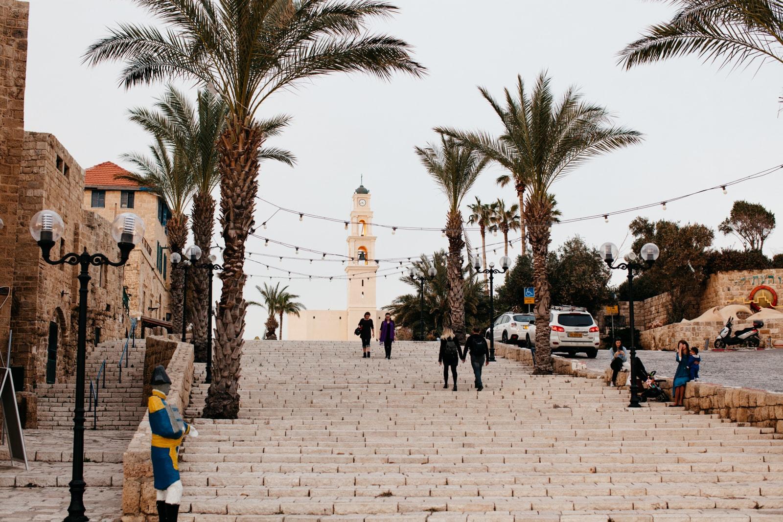 KCTP00019-STEPS-JAFFA OLD CITY-TEL AVIV-ISRAEL-GRANT