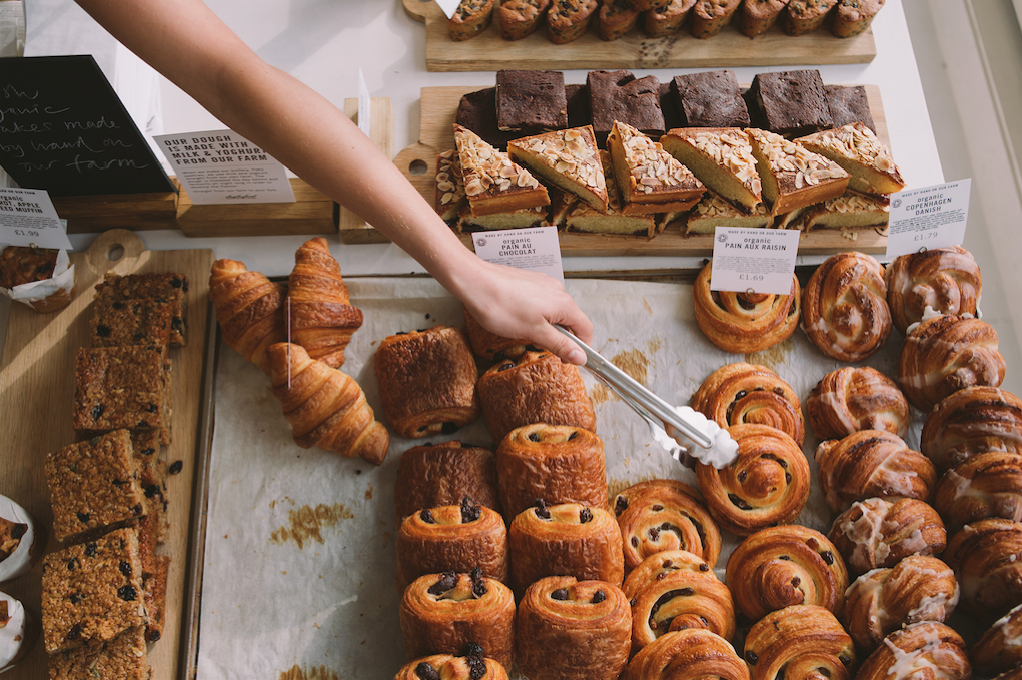 A selection of pastries | Courtesy of Daylesford Organic
