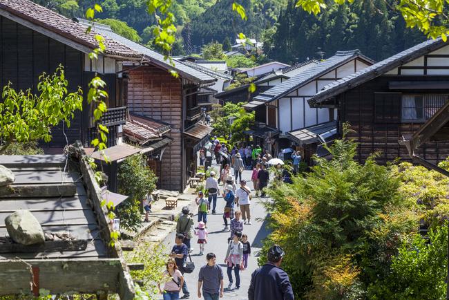 Деревня в долине Кисо  loverme