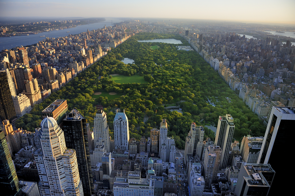 Central Park aerial view, Manhattan, New York © T photography / Shutterstock