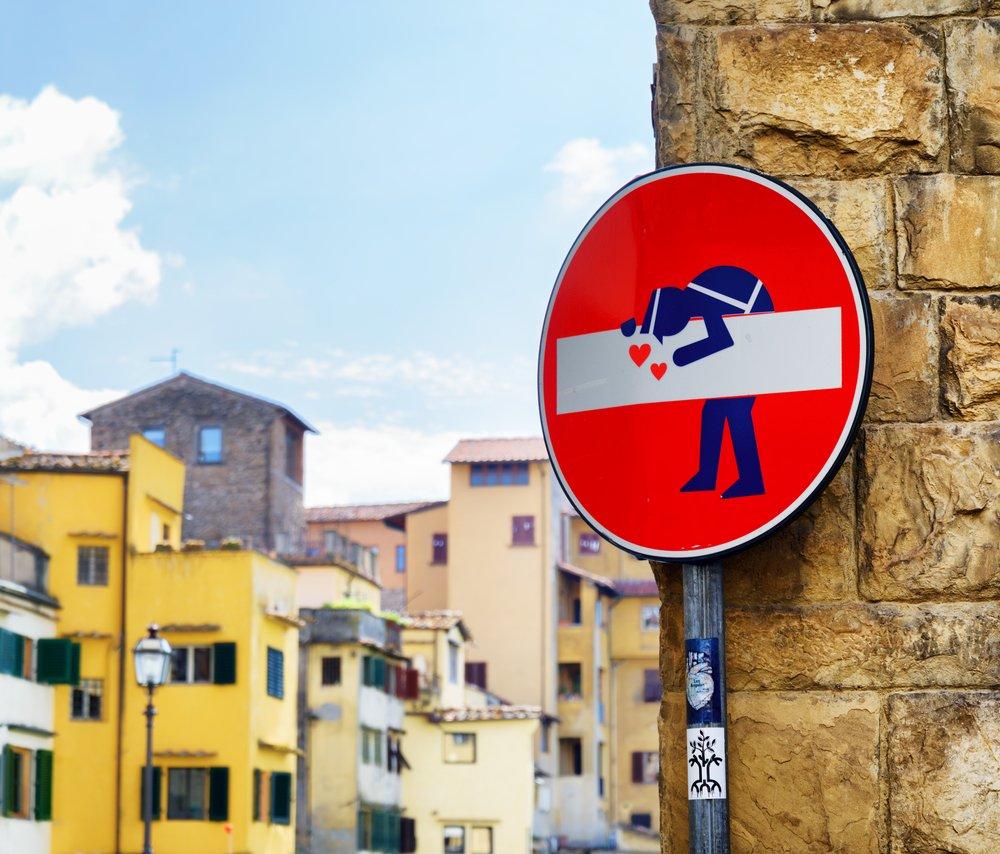 Street art at historic center of Florence | © kozer/Shutterstock