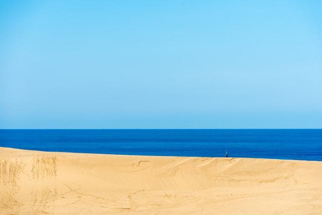 Песчаные дюны Тоттори  loverme