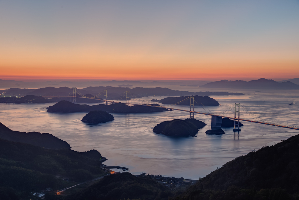 One of the great bridges that cross from Honshu to Shikoku | © Yusei/Shutterstock