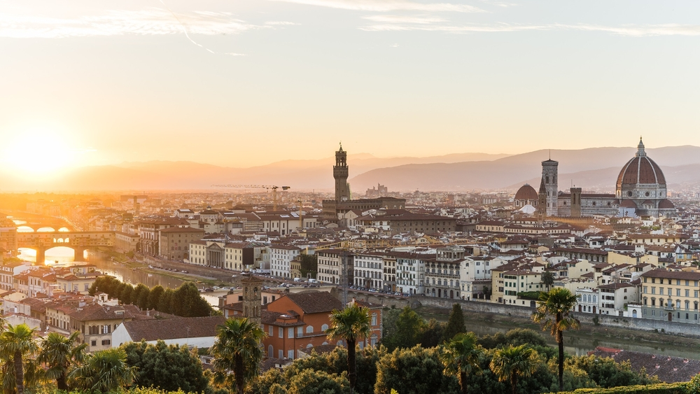 View over Florence from Piazzale Michelangelo | © Shanti Hesse/Shutterstock