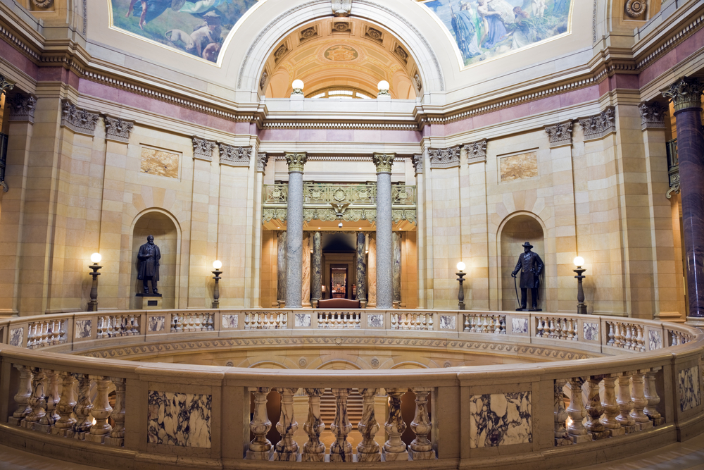 State Capitol of Minnesota in St. Paul © Henryk Sadura  / Shutterstock