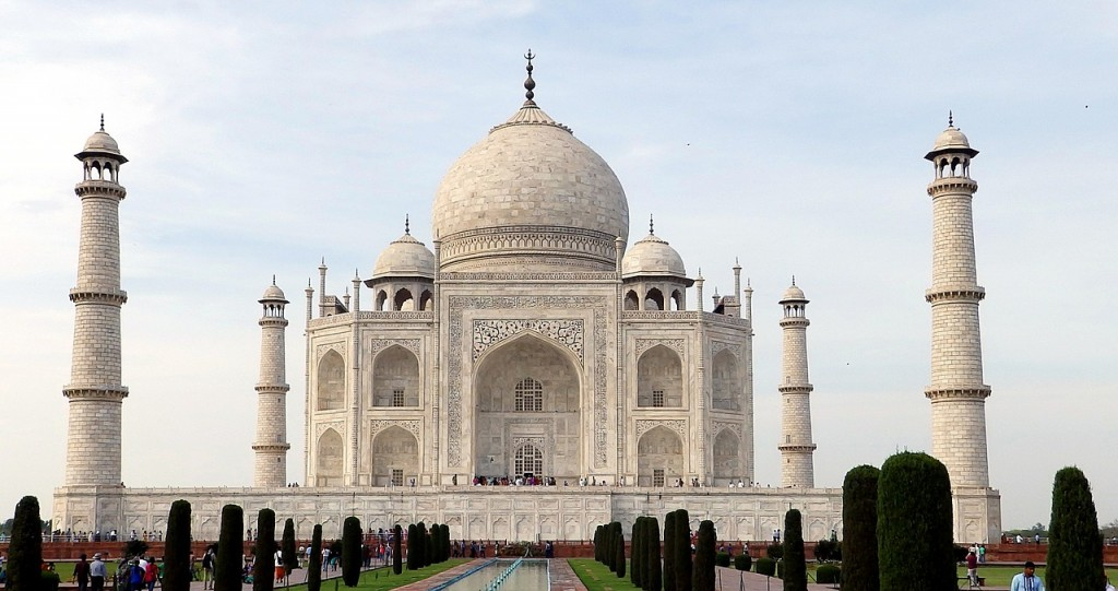 Taj Mahal, Uttar Pradesh © Pixabay