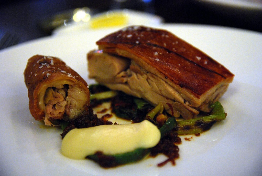 Roast Suckling Pig, a favourite at Choco | ©Alpha/Flickr