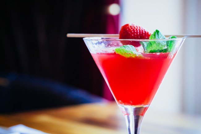 Strawberry Martini © daspunkt