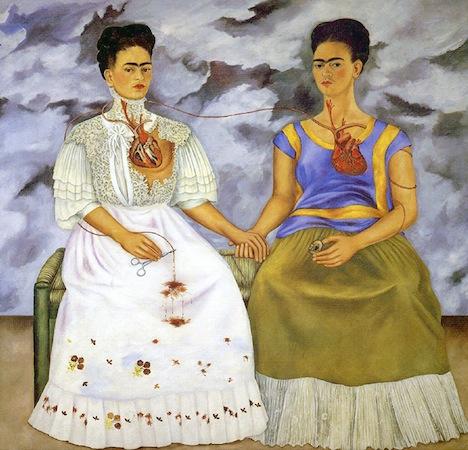 Las Dos Fridas, Frida Kahlo | © Ed Uthman/Flickr
